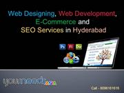 Web Designing Company in Hyderabad, SEO Services,Hyderabad E-Commerce