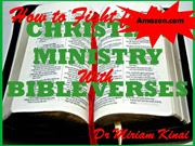 HOW TO FIGHT FOR YOUR CHRISTIAN MINISTRY WITH BIBLE VERSES