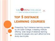 distance learning courses Online and distance learning at oxford university offers a new way of combining innovative learning and teaching techniques with interaction with your tutor and.