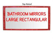 Best Bathroom Mirrors Large Rectangular