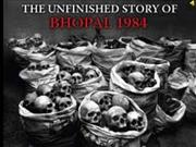 bhopal gas tradgery