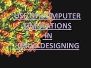 computer aided drug designing