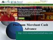 platinum merchant cash advance