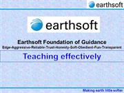 31-3-Earthsoft-Effective teaching methodologies