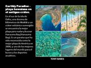Earthly Paradise - playa hawaiana en el antiguo
