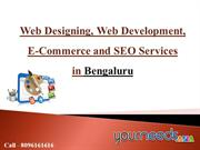Web Designing in Bengaluru | SEO Services | E-Commerce Solutions