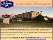 Denver Airport Hotel - Hampton Inn Denver International Airport Hotel