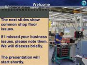 Paperless Shop Floor warmup with arrows
