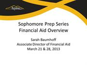 KSU Financial Aid Presentation
