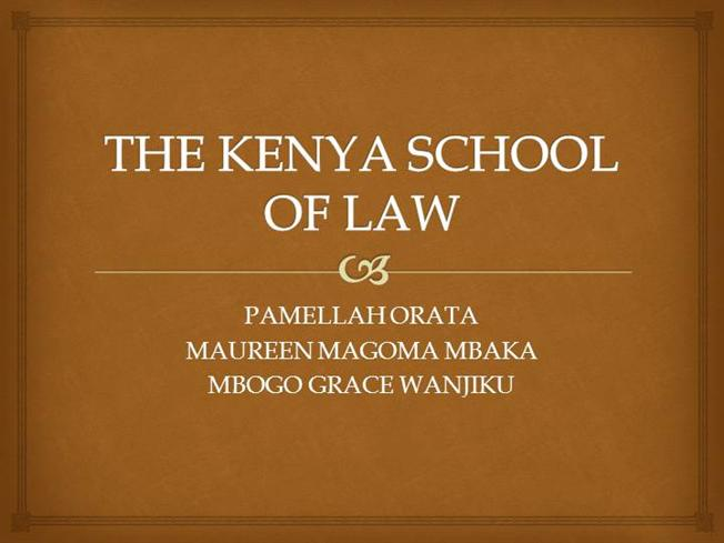 Image result for kenya school of law