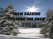 From Dashing through the Snow FCAT 2