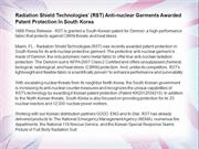 Radiation Shield Technologies' (RST) Anti-nuclear Garments Awarded