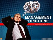 managerial functions online edition