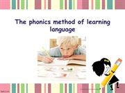 The Phonics of Learning Language