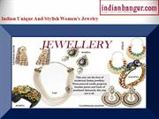 Indian Jewellery - Buy exquisite Indian Jewellery from Indianhanger