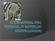 International Rail Terminal at Waterloo Station lo