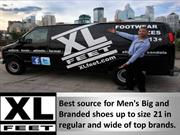 Top Big Shoes Brands available at Xlfeet!