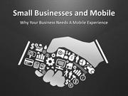 Why Small Business Need Mobile Apps