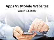 Mobile Apps v Mobile Websites - which is better?