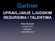 HR and talent management