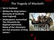 Introduction to Macbeth (1)