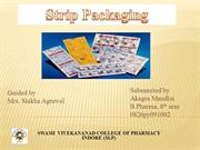 strip packaging