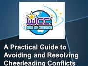A Practical Guide To Avoiding and Resolving Cheerleading Conflicts