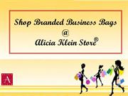 Shop Branded Business Bags