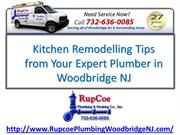 Kitchen Remodelling Tips from Your Licensed Plumbers in Woodbridge NJ
