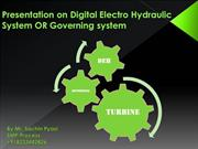 Governing System OR Digital Elecro-Hydraulic System