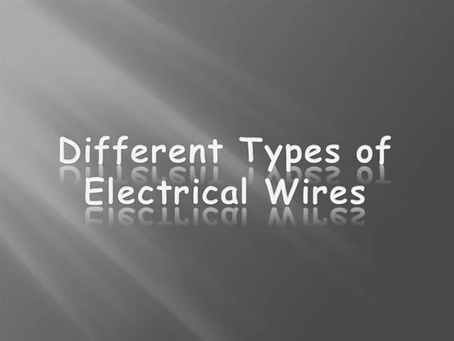 guide to electrical wire types \u0026 sizes authorstreamGuide To Electrical Wire Types Sizes #7