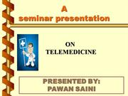 Telemedicine