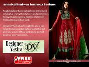 Shop online with latest Anarkali Salwar Suits