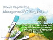 Crown Capital Eco Management Fc2 Blog Posts