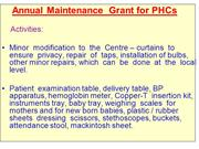 ANNUAL MAINTANANCE GRAND FOR PHC
