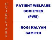 PATIENT WELFARE SOCIETY