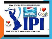 IPL 2013 Live Matches only on Sony Six | WWW.GoogleGee.COM