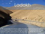 A tourist Guide to Ladakh