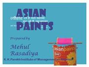 Asian paints marketing