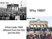 Why 1989