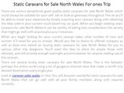 Static Caravans for Sale North Wales For ones Trip
