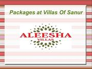 Packages at villas of sanur