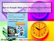 How to Transfer Music from iPhone to iTunes Library