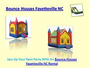 Bounce Houses Fayetteville NC