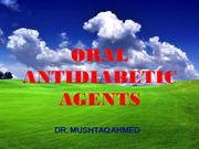 Oral Antidiabetics