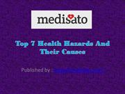 Top 7 Health Hazards And Their Causes