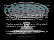 How Does It Work To Have High Pressure Shower Head with Low Flow to Co