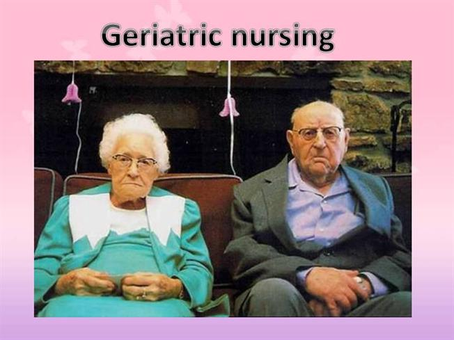 Geriatric nursing authorstream toneelgroepblik Images