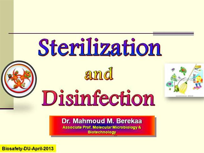 Sterilization And Disinfection |authorSTREAM