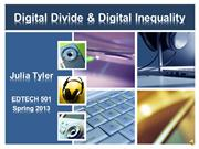 julia tyler edtech 501 digital divide presentation